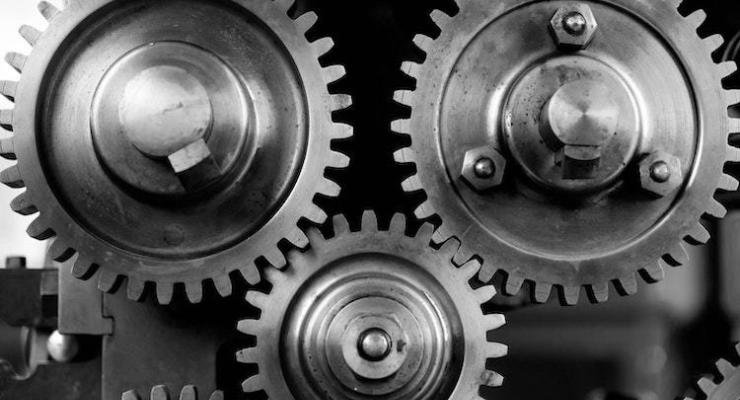 Close up cogs gears 149387