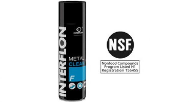 Interflon newsarticle biodegradable cleaning agent
