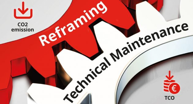 Reframing technical maintenance overview page