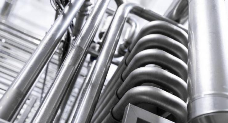 Interflon lubrication of the pasteurizer chains