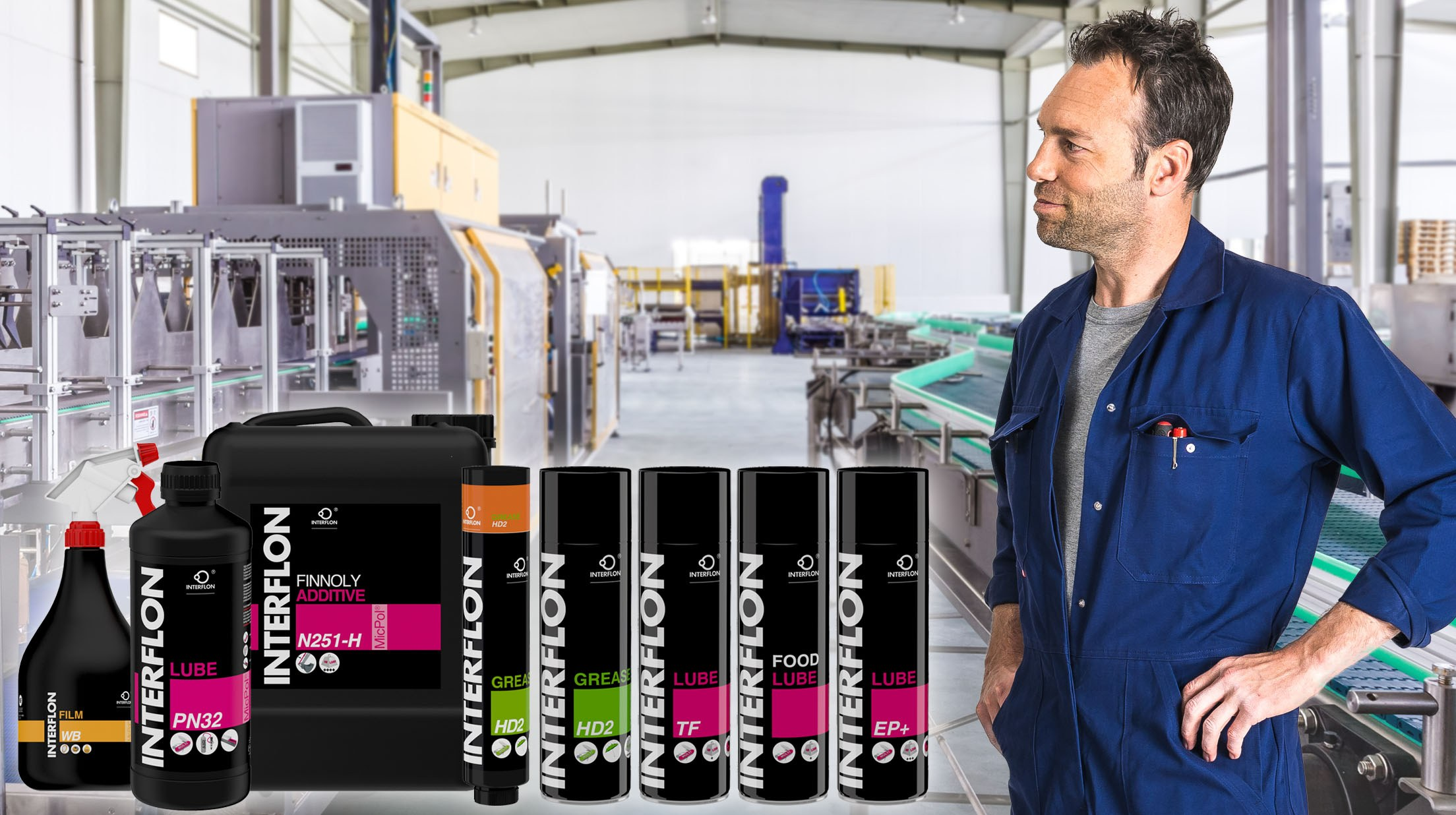 Interflon newsarticle Keeping a factory fit