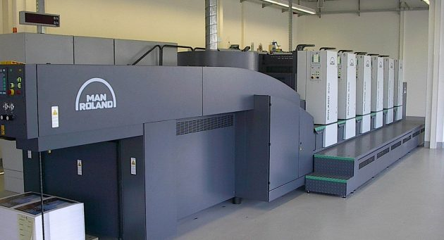 Interflon case study Compressor in the printing industry