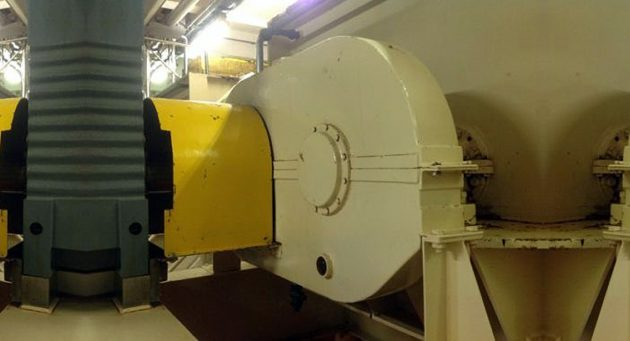 Interflon case study External gearbox to drive mixing arms in the basin
