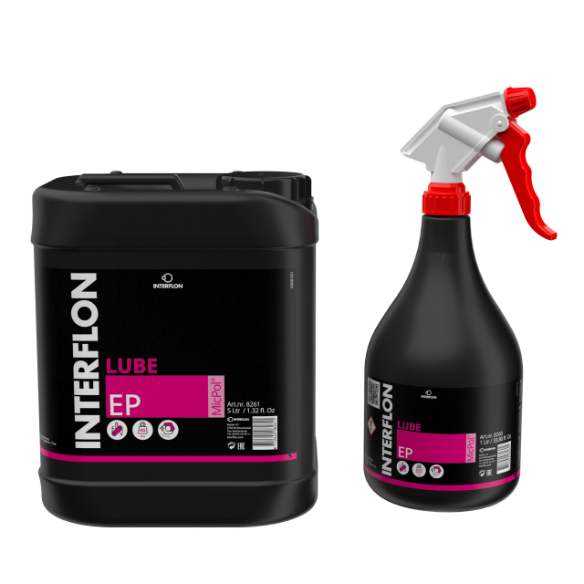 Extreme pressure dry film lubricant with MicPol®