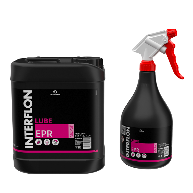 Interflon Lube EPR packaging