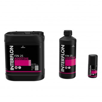 Interflon fin 25 additive high performance engine oil additive suitable for most engines