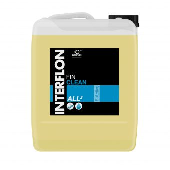 Interflon fin clean all 2 all-purpose label-free food safe alkaline cleaner