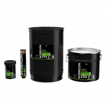 Synthetic grease with good adhesion and lubrication properties