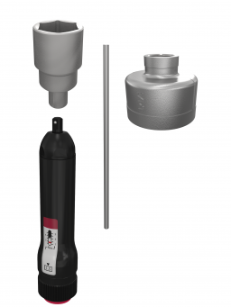 Interflon single point lubricator filling set for quick and clean filling or refilling single point lubricators