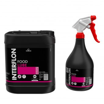 Interflon Food lube an extremely versatile dry film food safe lubricant